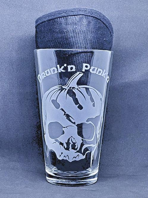 Drunk'n Punk'n Etched Glass