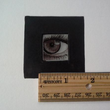 One inch eye