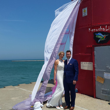 """""""Wind of the Spirit"""" ..with newlyweds!"""