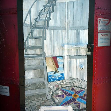 """Inside the Lighthouse"""