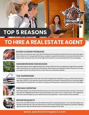 Top 5 Reasons for Hiring A Real Estate Agent