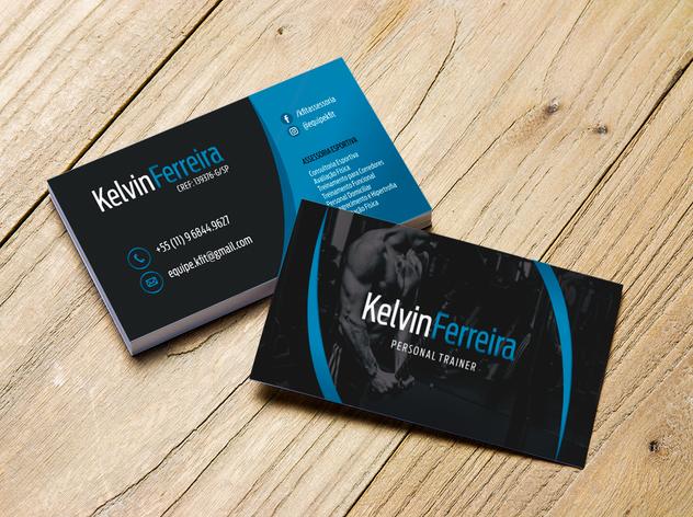 Cartão de Visita - Kelvin Ferreira