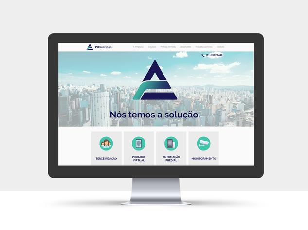 Site - PC Serviços