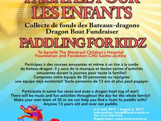 Paddling for Kidz / Pagazyez pour les Enfants