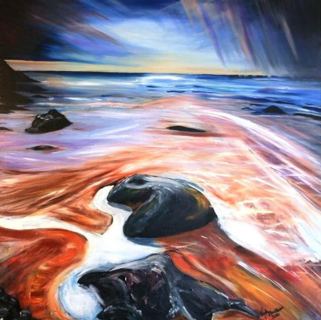 turning tide (Oil on Canvas).JPG