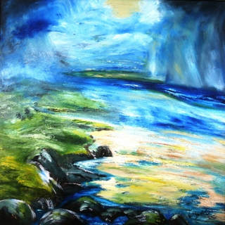 Squally Showers (Oil on Canvas).JPG