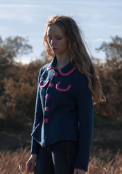 coco jakke blå rosa