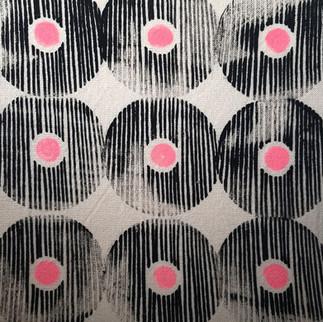 Silketrykk på ull bilde 50x50