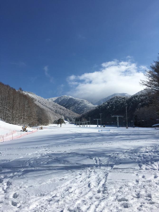 第39回全日本スキー選手権 猪苗代大会 フリースタイル競技「コーチ帯同」 ③公式トレーニング(2日目)