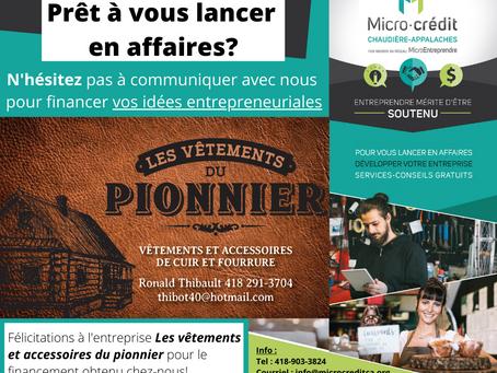 Nouveau financement dans Montmagny-L'Islet