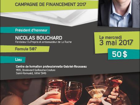 Nicolas Bouchard, fondateur DuProprio et ambassadeur de La Ruche, sera président d'honneur au co