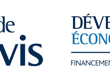 Développement Économique Lévis: commanditaire majeur pour la campagne de financement à Lévis