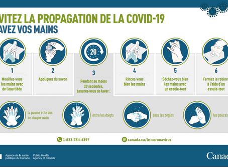 COVID-19 - Mesures prises par les gouvernements