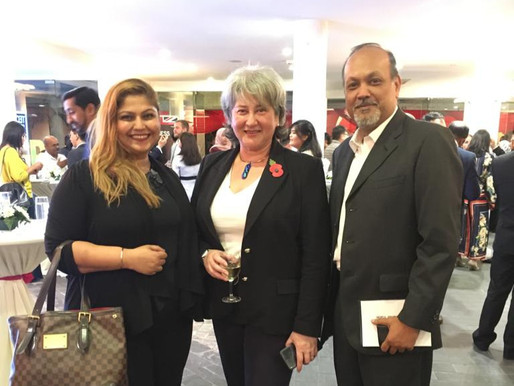 Basis Bay at the British High Commission AI Mission Networking 2018