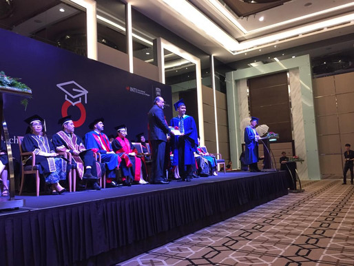 INTI's Outstanding Student Receives Industry Recognition from Basis Bay