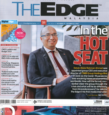 Basis Bay in DigitalEdge - new pullout in The Edge Malaysia