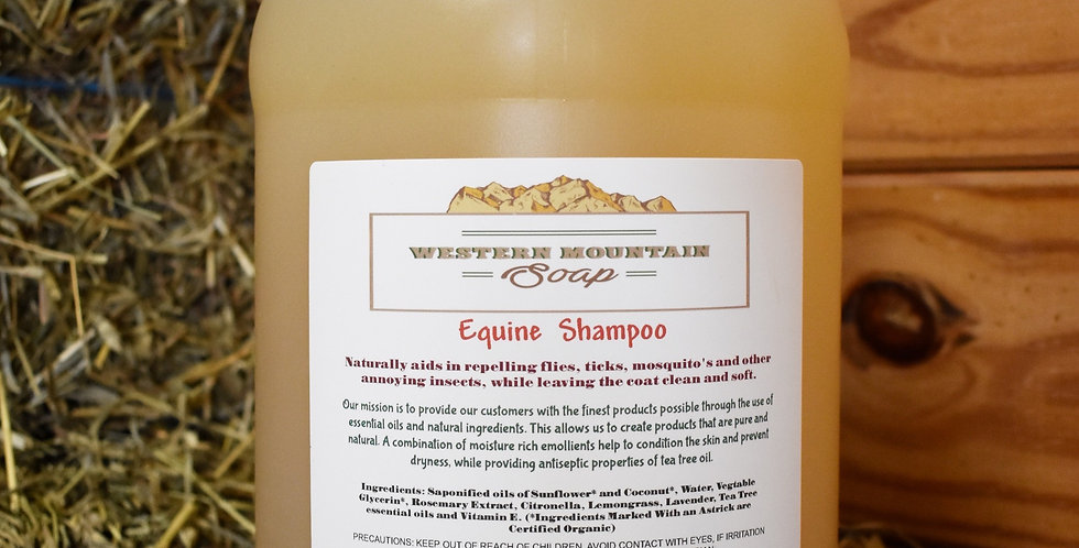 All Natural Horse Shampoo