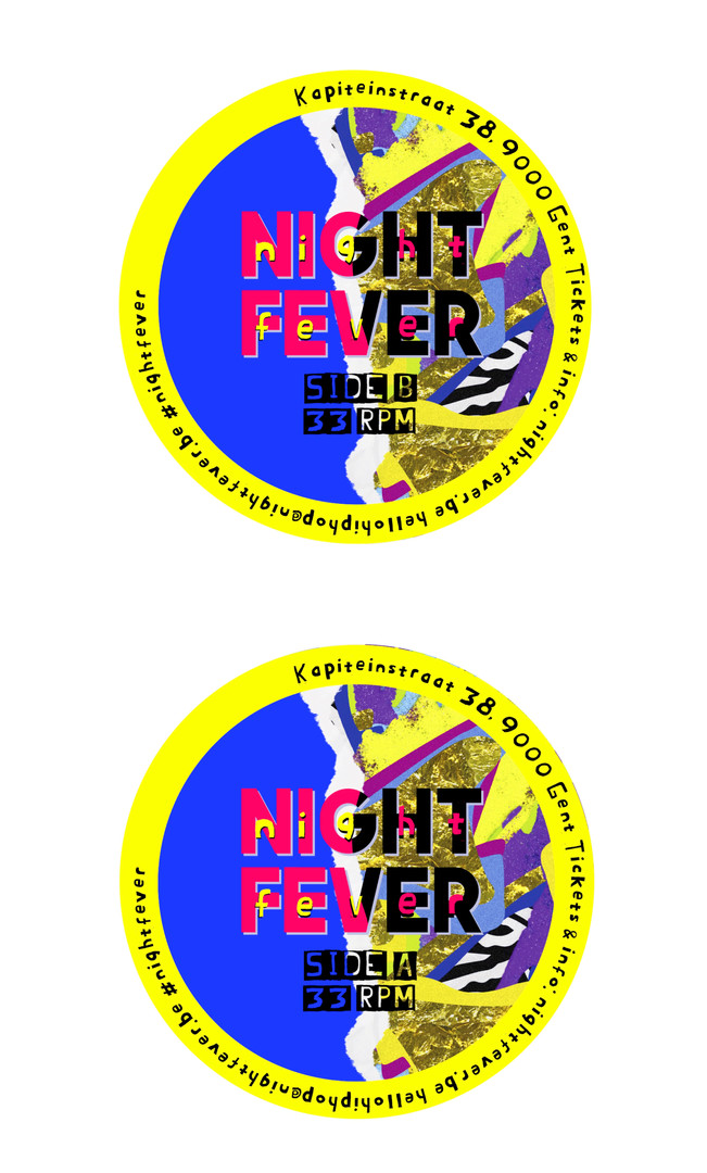 Van der Meer Janne NIGHT FEVER 2-Labels