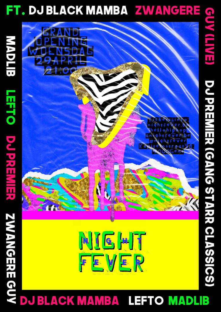 Van der Meer Janne NIGHT FEVER 2- nieuwe
