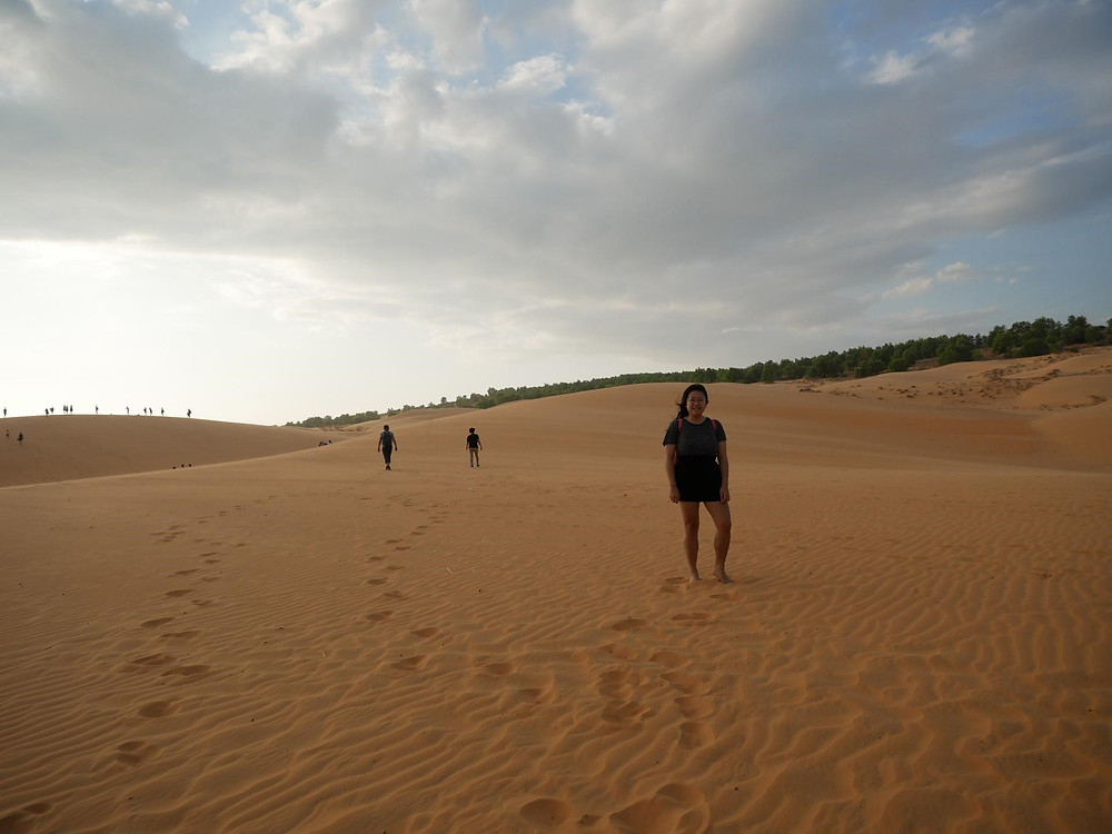 I didn't expect to see Red Sand Dunes in Vietnam