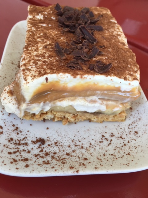 Banoffee at Kalofego on Koufonisia island