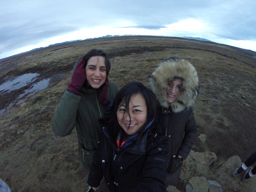 A winter girlcation in Iceland is a great but chilly getaway