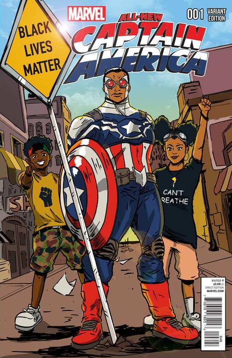 Captain America BLM