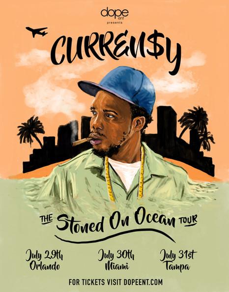 Curren$y Stoned On Ocean Florida Flyer