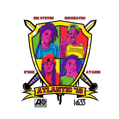 Atlantic Records HBCU Tour Artwork