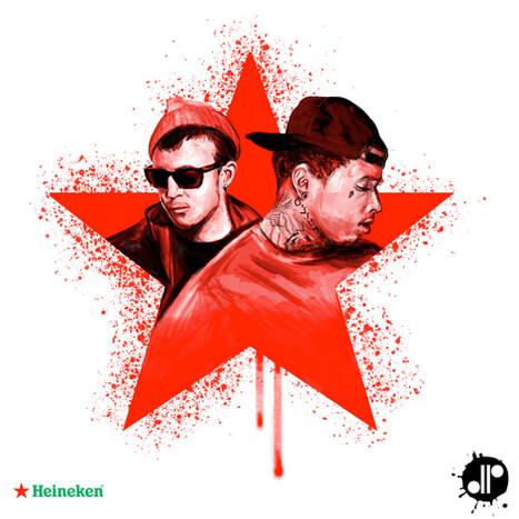 Heineken x Chris Webby x Kid Ink Promo