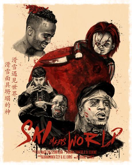 Ski Meets World Tour Poster