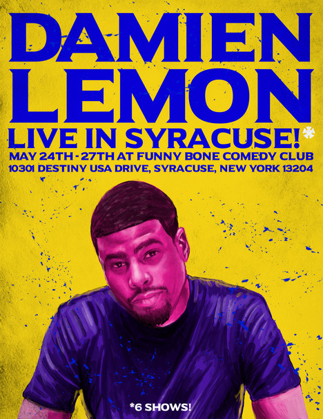 Damien Lemon Live in Syracuse