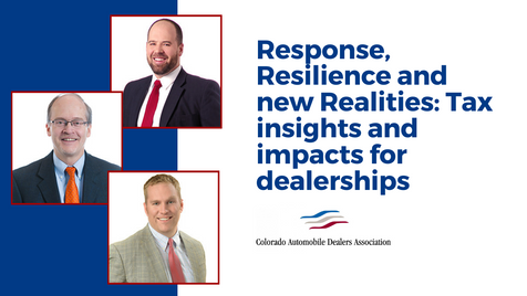 Response, Resilience and new Realities_