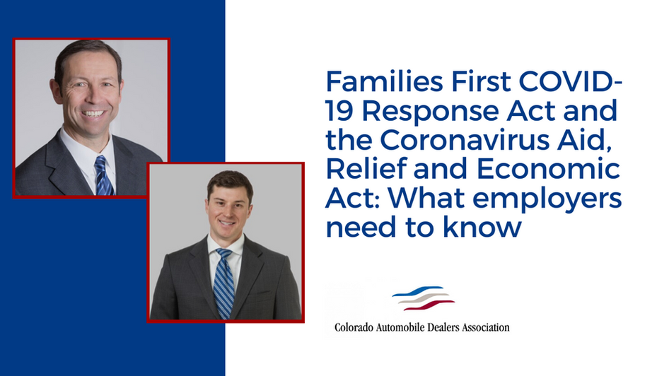 Families First COVID-19 Response Act and