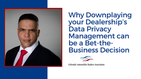 Why Downplaying your Dealership's Data P