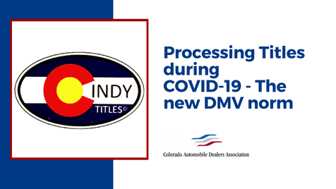 Processing Titles during COVID-19 - The