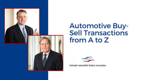 Automotive Buy-Sell Transactions from A