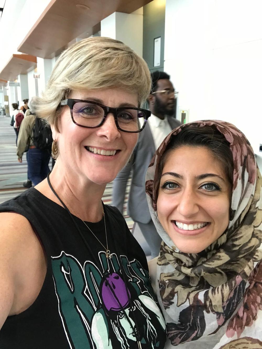 Queen B with Rund Abdefatah of NPR