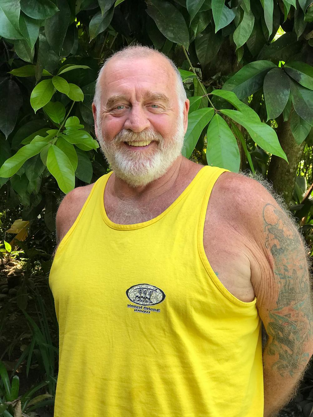 My shaman, Ro's husband, Tup