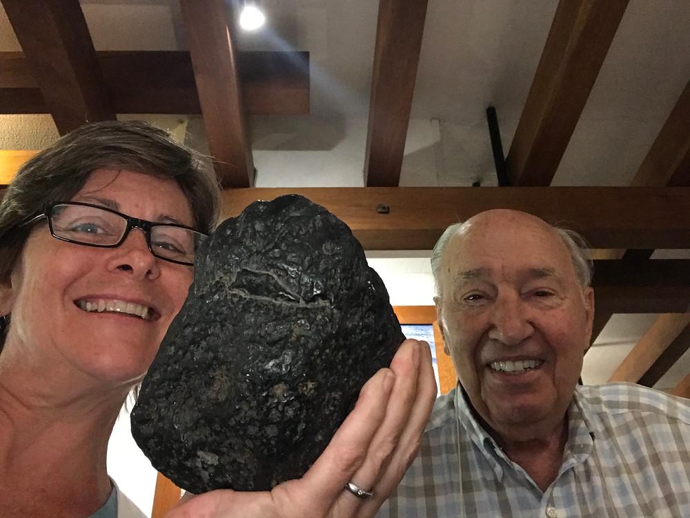Hans van der Wielen's meteorite