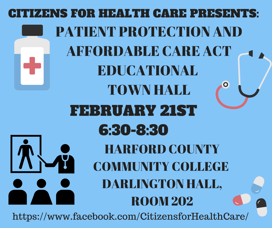 Flyer ACA Town Hall