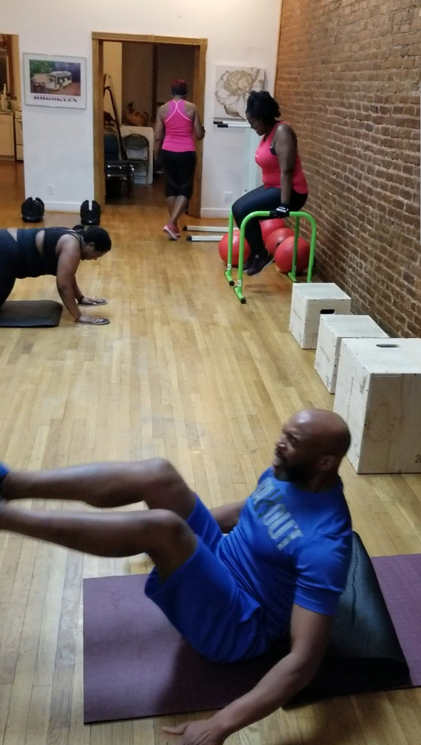 Personalized group fitness strength and cardio classes