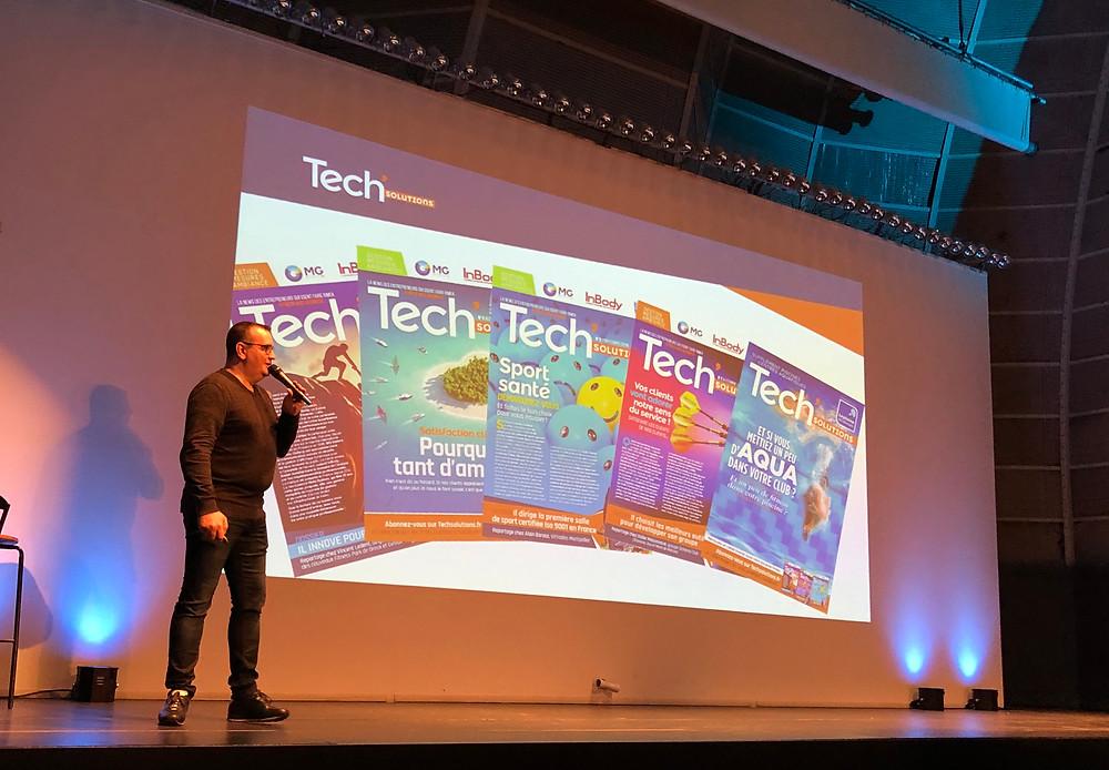 Emmanuel Vincent présente Tech'Solutions