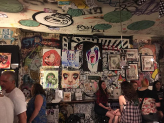 VIDEO LIVE LINKS: Pancakes & Booze DC and The Fused Underground Art Show at Tattooed Mom