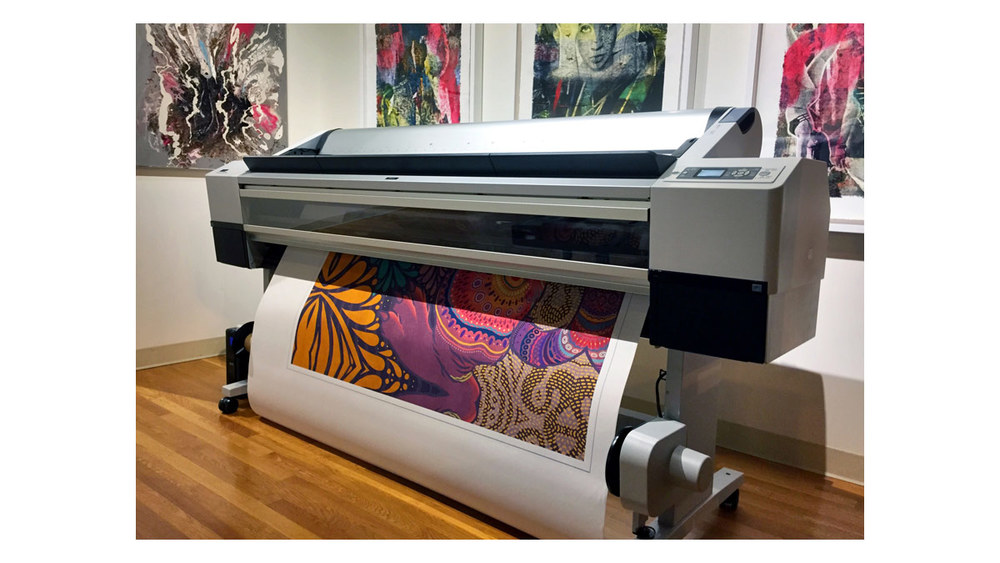 Printers at 9 Surft Editions