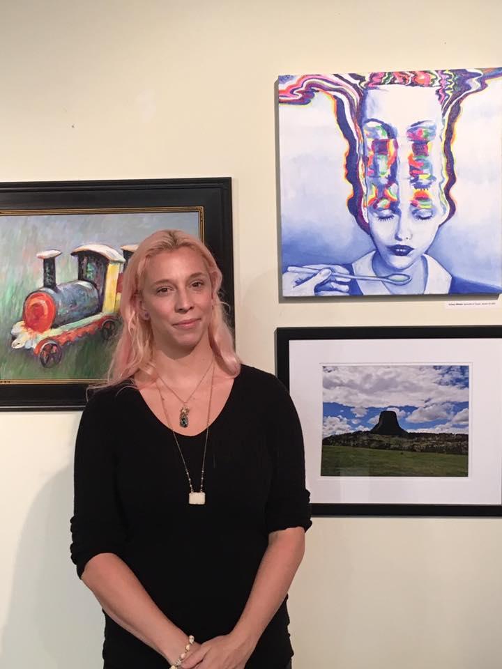 New Hope Arts Salon Show Artist Krissy Whiski