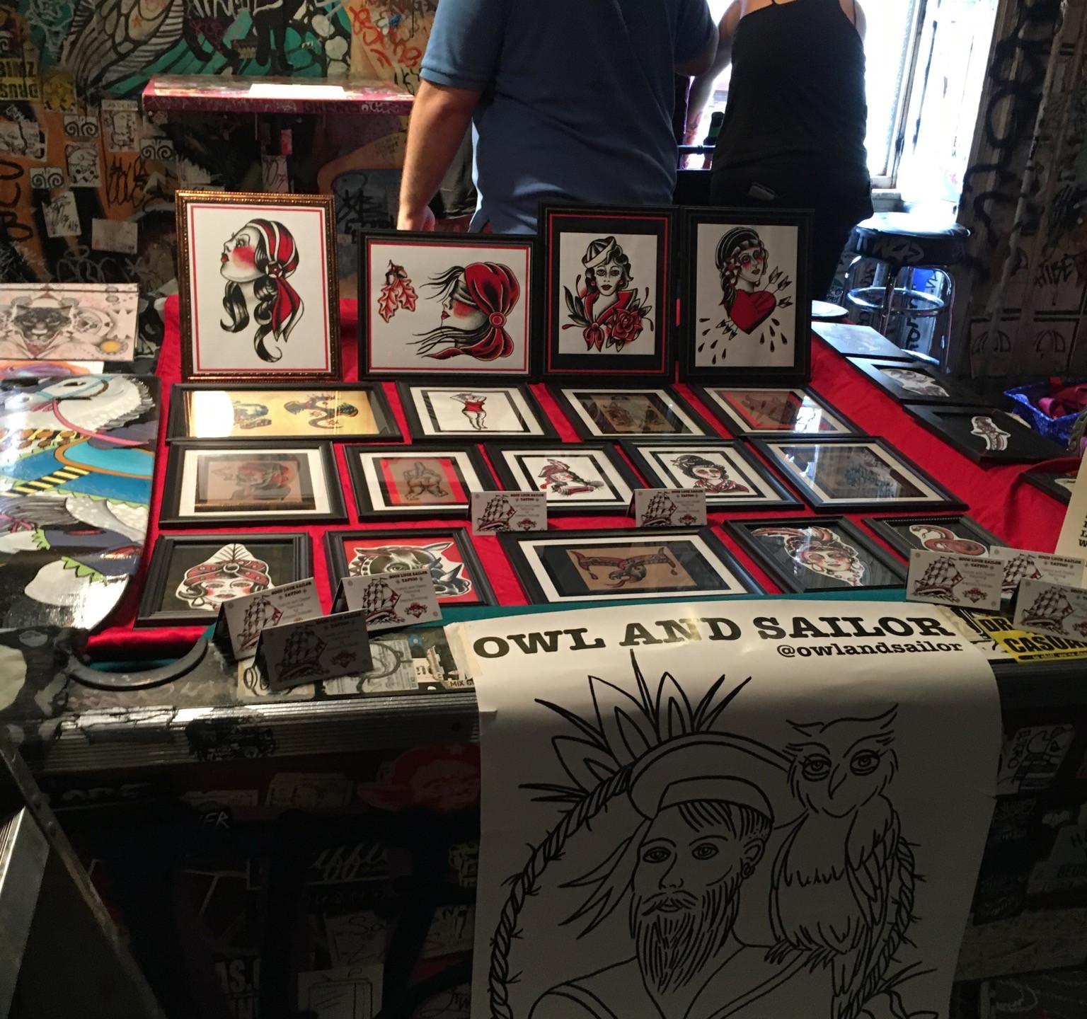 Tattoo flash art prints
