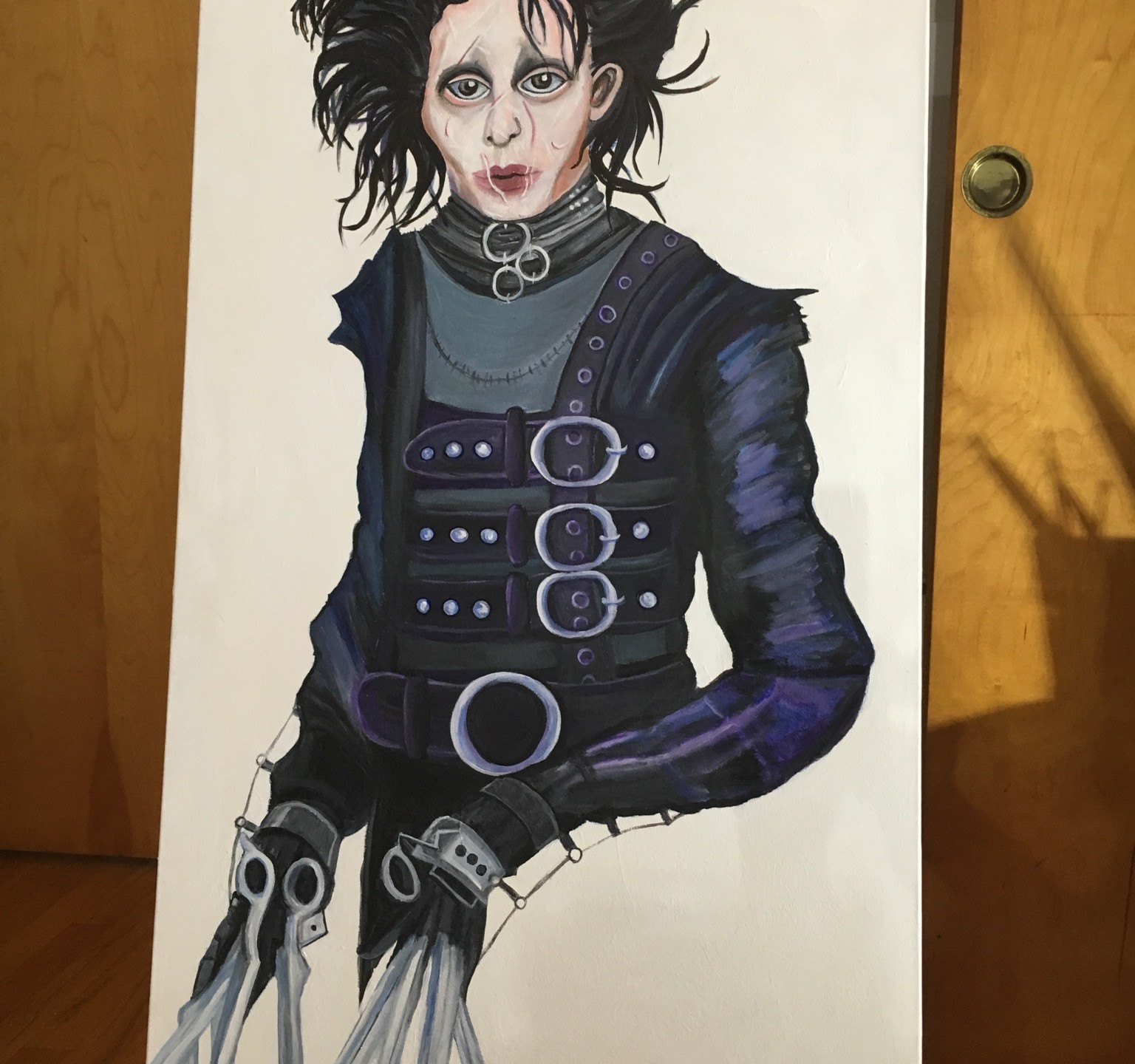 Edward Scissorhands by Krissy Whiski