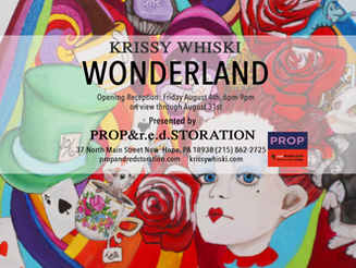 Wonderland Solo Show in New Hope