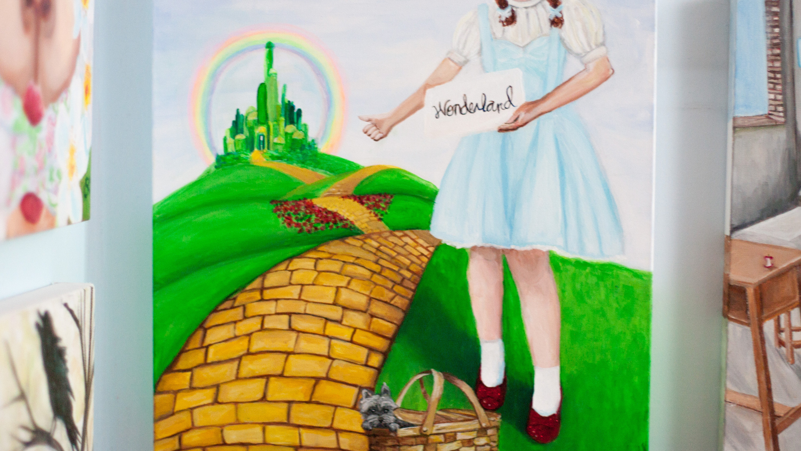 Wizard of Oz Dorothy Hitchhiking